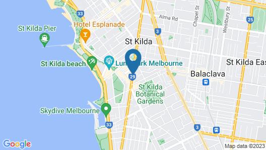 Barkly Apartments Map