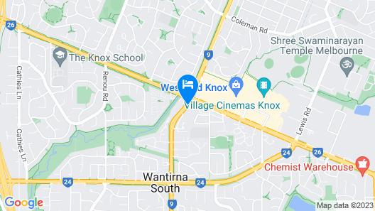 Punthill Knox Map
