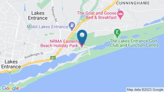 NRMA Eastern Beach Holiday Park Map