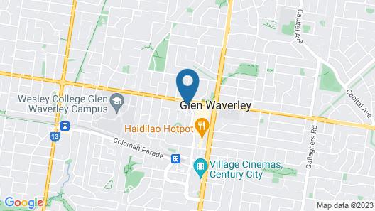 Apartments @ Glen Waverley Map