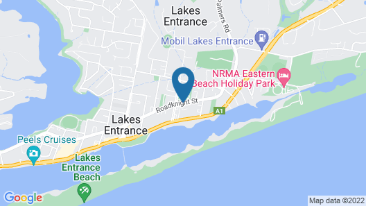 BIG4 Whiters Holiday Village Map