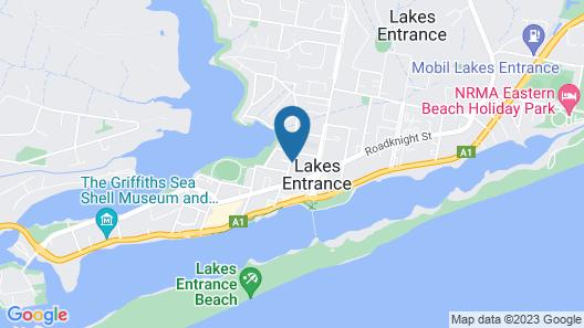 Allambi Holiday Apartments Map