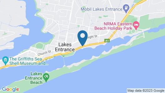 Cunningham Shore Motel Map