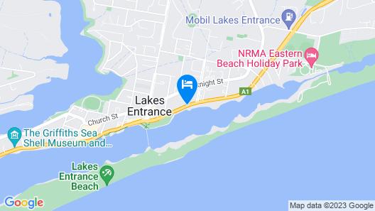 Sandbar Motel Map