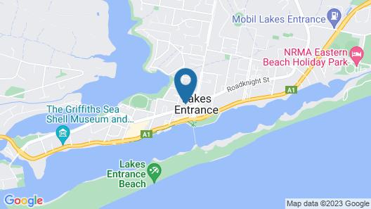 Lakes Jakaranda Holiday Units Map