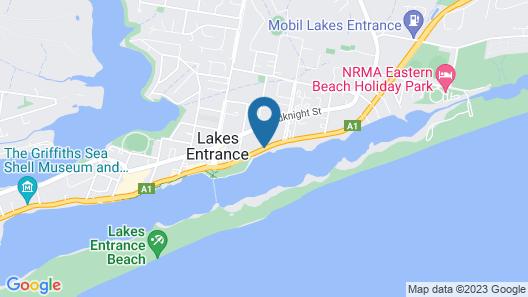 Coastal Waters Motor Inn Map
