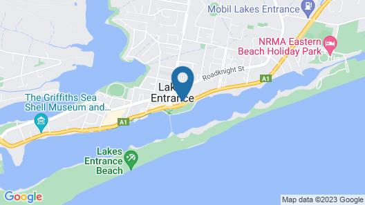Seashells Lakes Entrance Map
