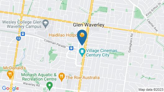 Astra Apartments Glen Waverley @Galleria Map