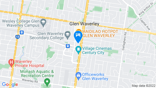 Domi Serviced Apartments Map