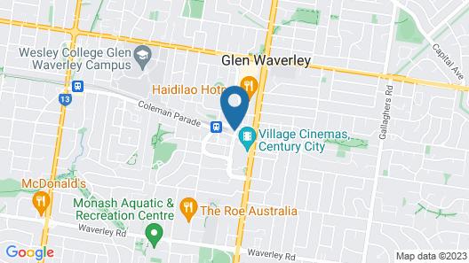 Park Avenue - IKON Glen Waverley Map
