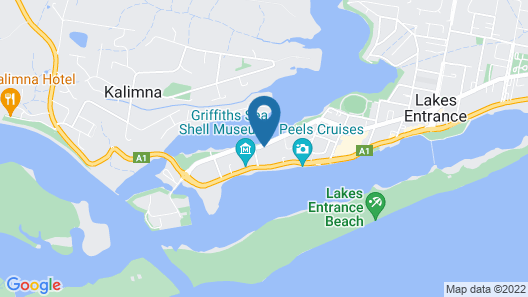 Hybiscus Waterfront Apartments Map