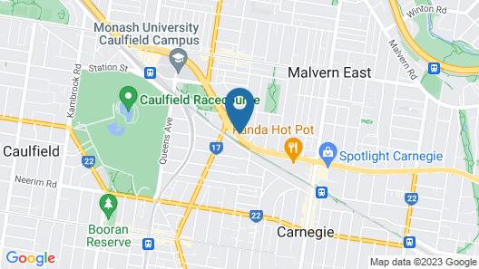 Evancourt Motel Map