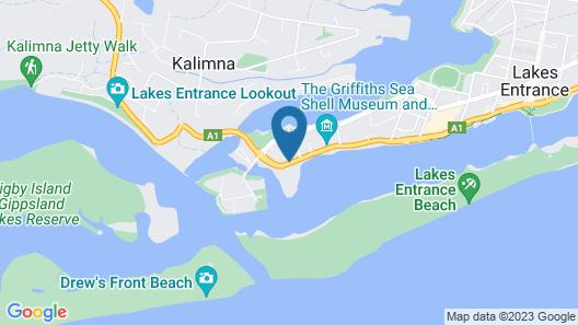 The Esplanade Resort and Spa Map