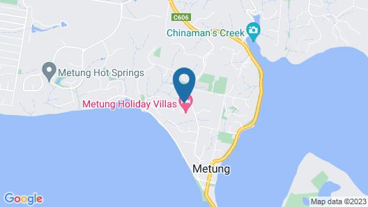Metung Holiday Villas Map