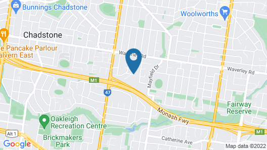 Mt Waverley Townhouses Map