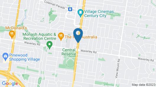 Quest Glen Waverley Map