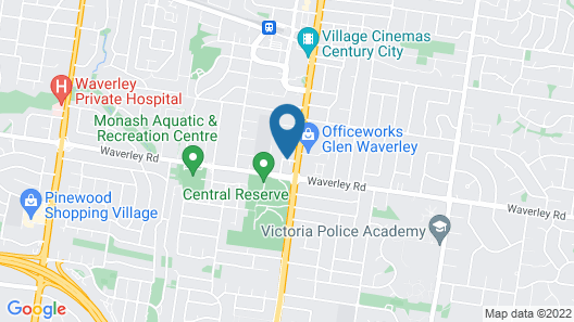 Apartments of Waverley Map