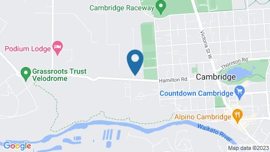 Kelly Rd Cambridge Lodge Map