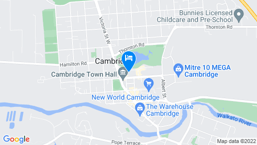Hidden Lake Hotel and Apartments Map