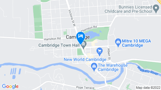 No1 Motels On Victoria Map