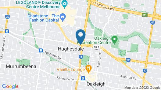 Punthill Oakleigh Map