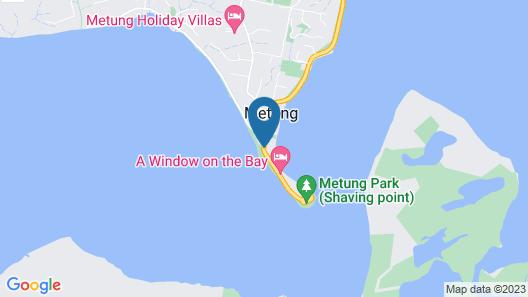 The Moorings at Metung Map