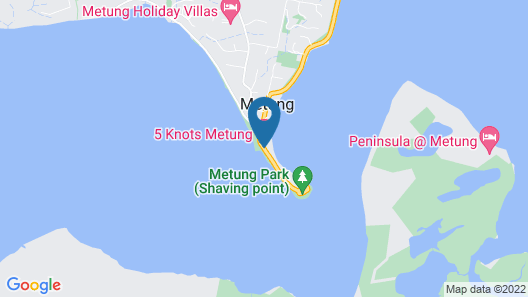 5 Knots Metung Map