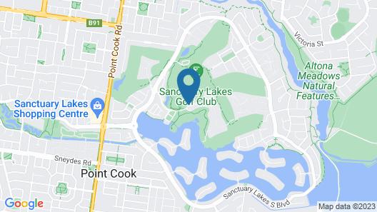 Quest Sanctuary Lakes Map