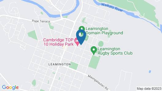 Cambridge TOP 10 Holiday Park - Campsite Map