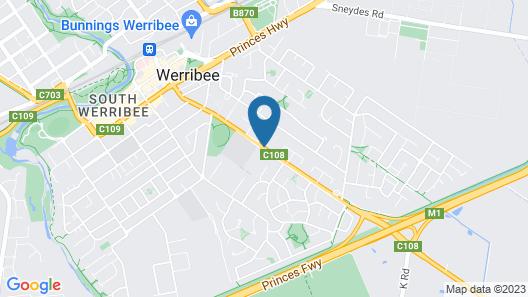 Werribee Park Motor Inn Map