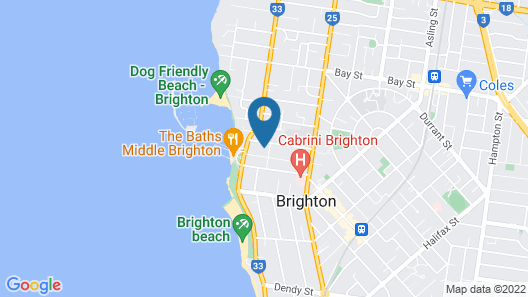 BOUTIQUE STAYS - Brighton Rose Map