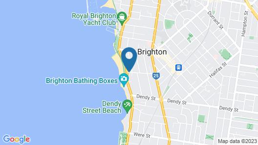 Brighton Savoy Map