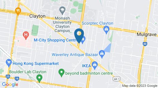 PARKROYAL Monash Melbourne Map