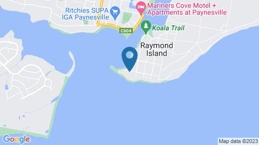 The Abbey Raymond Island Map