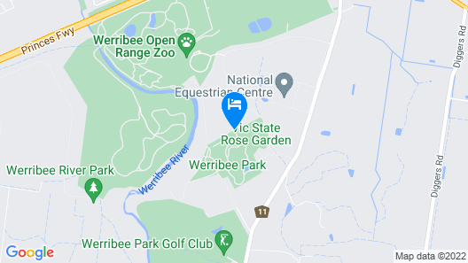 Lancemore Mansion Hotel Werribee Park Map