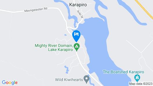 Lake Karapiro Mighty River Domain Map
