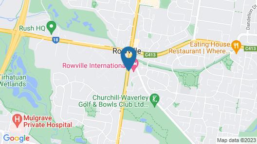 Rowville International Hotel Map