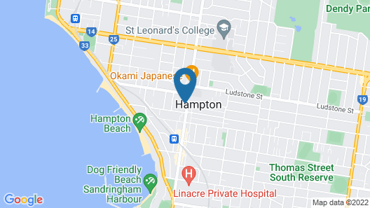 Boutique Stays - Hampton Hub Map
