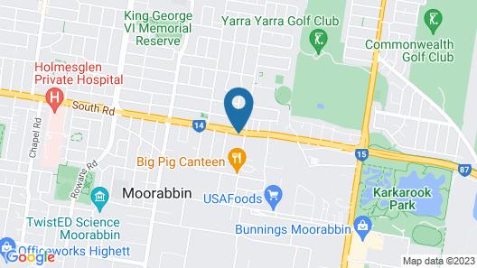 Sandbelt Club Hotel Map