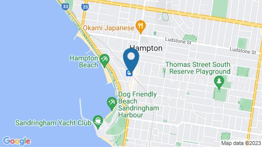 Anchorage Apartments Hampton Map