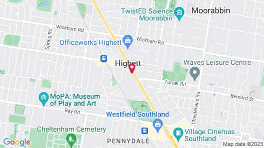 Best Western Plus Buckingham International Map