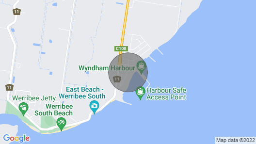 Waterfront Apt 221 Marina Quays Map