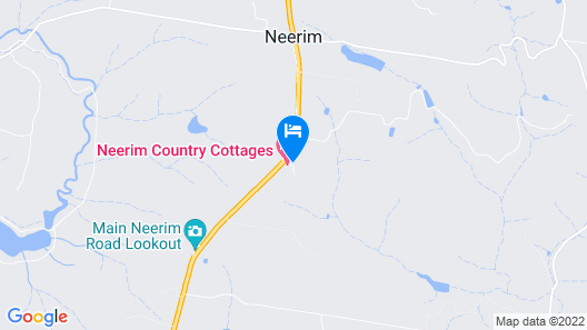 Neerim Country Cottages Map
