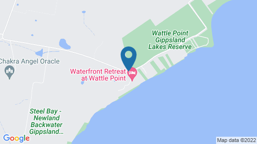 Waterfront Retreat at Wattle Point Map