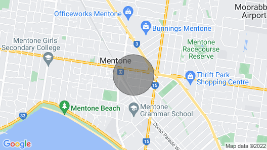 Ideal Seaside Melbourne Home Nearby Train Station Map