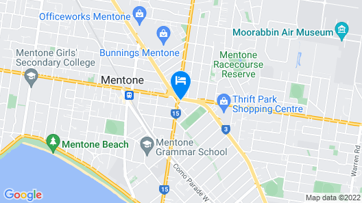 Parkdale Motor Inn Map