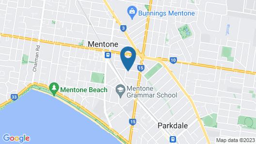 BOUTIQUE STAYS - Mentone Abode Map