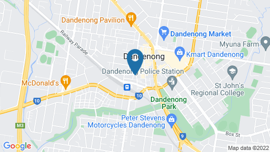 Quest Dandenong Central Map