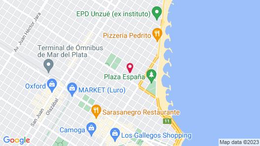 Perlamar Hotel Map