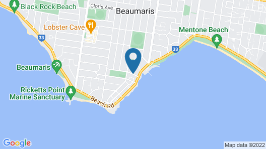 Beaumaris Bay Motel Map
